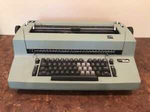 Classic Ibm Correcting Selectric Ii Green Electric Typewriter Works
