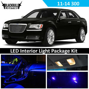 Blue Led Interior Light Accessories Kit For Map Dome Fits 2011 2014 Chrysler 300