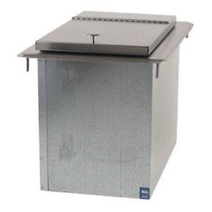 Advance Tabco D 12 ibl 23 Lb Capacity Drop in Ice Bin