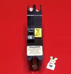 Circuit Breaker Challenger Federal Pacific Fpe Nagf15 15 Amp 1pole Stab lok Gfci