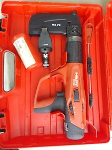 Hilti Dx460 And Mx 72 Powder Actuated Nail Gun W Case X 460 f8 Fastener Guide