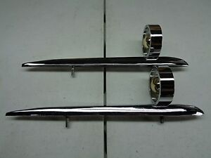 New 1958 Ford B8a 18253 a Front Fender Ornaments