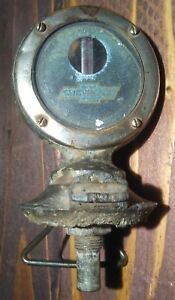 Vintage 1924 Chevrolet Monogru Hood Thermostat Ornament Motometer Antique Chevy