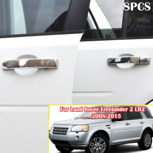 For Land Rover Lr2 2008 15 Lr3 2005 09 Chrome Door Handle Cover Protector Trim