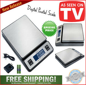 Digital Postal Scale Electronic Postage Scales Mail Letter Package Usps 90 Lbs