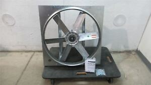 Dayton 1aha8 1 2 To 1 Hp 939 1178 Rpm 24 In Blade Dia Exhaust Fan