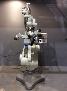 Moller wedel Vm900 Microscope Mms900 Super Oh Stand W haag Streit Light Source