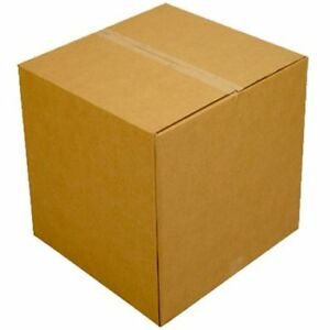 Large Moving Boxes 6 Pack 20x20x15 inches Packing Cardboard Box W