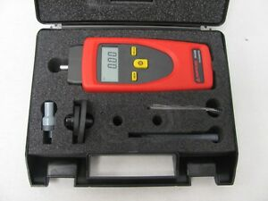 Amprobe Tach20 Combination Tachometer Contact And Non contact New Made Germany