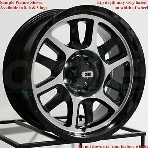 4 New 20 Wheels Rims For Avalanche Express Van 1500 Astro Van Colorado 6900