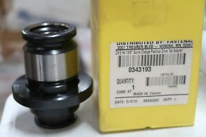 Centaur Precision Tools Cwe 4 1 3 8 Quick Change Positive Drive Tap Adapter