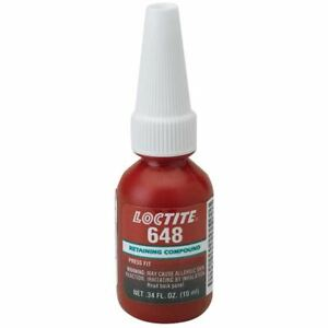 Loctite 10 Ml 648 General Purpose High Strength Retaining Compound pack 3