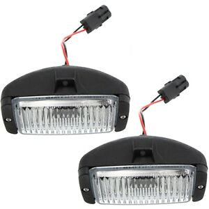 Fog Light For 88 97 Chevrolet C1500 Set Of 2 Front Driver And Passenger Side