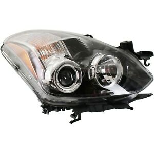 Halogen Headlight Passenger Side Right For 2010 2013 Nissan Altima Coupe