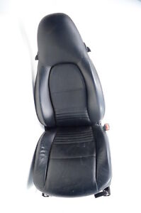 2000 01 02 Porsche Boxster S 986 3 2 Right Passenger Side Seat Leather Black