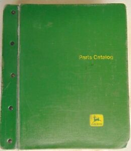 John Deere Parts Catalog In Binder 8820 Combine 200 Series Cutting Platforms