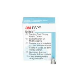 3m Unitek Stainless Steel Primary Anterior Crown Upper Right Lateral Size 4