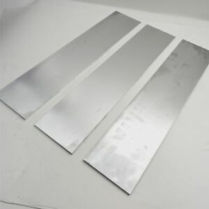 25 Thick 1 4 Aluminum 6061 Plate 7 5 X 30 Long Qty 3 Sku 180081