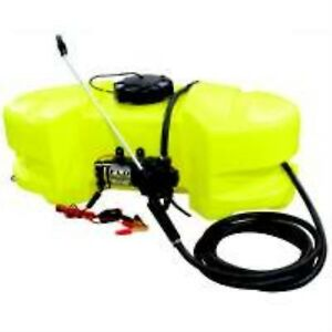 Ag South Gold Sc15 ss gtns Spot Sprayer 15 Gal Polyethylene Tank New