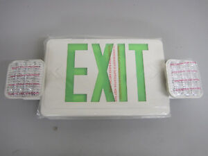 Lithonia Lighting Led Emergency Exit Sign Lights Combo Ecg Led M6