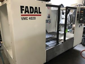 Fadal Vmc 4020 1yr Warranty On All Parts And Labor Completely Remanufactured