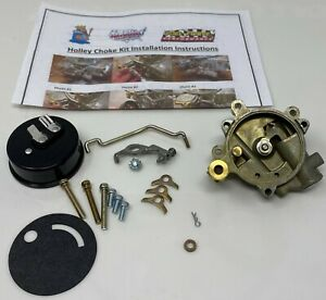 Holley Carburetor New Electric Choke Housing Kit With Electric Choke Coil