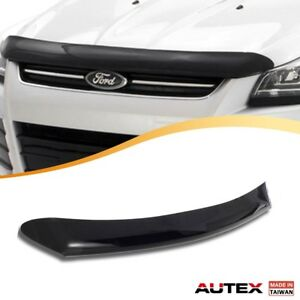 For 2013 2016 Ford Escape Autex Acrylic Bug Deflector Shield Hood Protector
