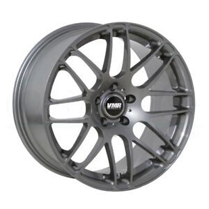 One 19x9 5 Vmr V710 5x112 33 Gunmetal Wheels Rims