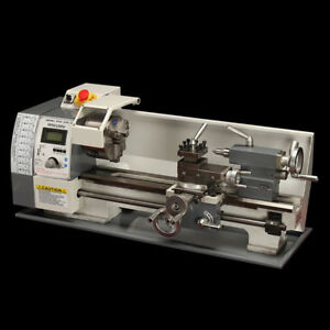 Techtongda Precision Mini Metal Lathe Multifunctional Bench Lathe 220v 600w
