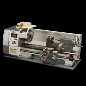 Techtongda Precision Mini Metal Lathe Multifunctional Bench Lathe 110v 600w