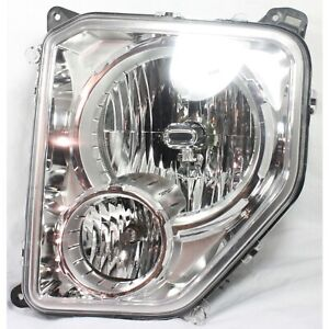 Headlight For 2008 2012 Jeep Liberty Left With Bulb And Fog Light