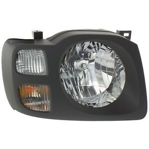 Headlight For 2002 2003 2004 Nissan Xterra Xe Model Right With Bulb