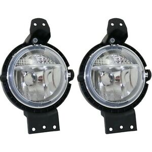 Fog Light For 2011 2014 Mini Cooper Countryman Set Of 2 Front Left And Right