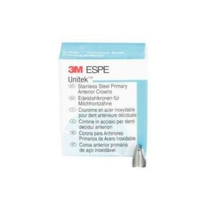 3m Unitek Stainless Steel Primary Anterior Crown Upper Right Central Size 4