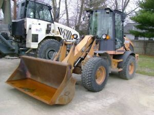 2012 Case Front End 321e Wheel Loader Series Iii 4 Cylinder Turbo Diesel Engine