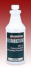 Branson Mc 3 Metal Cleaner Concentrated Ultrasonic Cleaning Solution