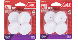 2 Packs Ace Patio Table Tips Round Insert Cup Furniture 1 1 2 Wrought Iron