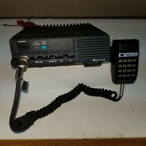 Midland 70 1530b Uhf 450 470 Mhz 22 Channels 30 Watts With Dtmf Mic