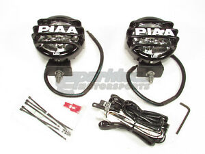 Piaa Lp550 High Intensity Led White Driving Beam Lamp Kit Fog Lights 6000k 5572