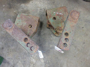 John Deere 801 Top Link Support Brackets Set 2
