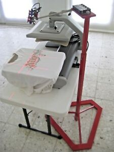 Laser Targeting Systems Heat Press Embroidery Screen Printing Digital Save