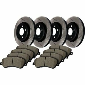 Stoptech 934 20004 Brake Disc And Pad Kit For 09 2016 Jaguar Xf Front