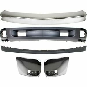 Bumper Kit For 2007 2008 Chevrolet Silverado 1500 Front Fits All Body Types 5pc
