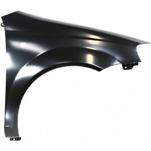 Fender For 2004 2007 Chevy Aveo Front Right Primed Steel With Signal Light Hole