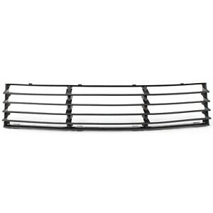 Bumper Grille For 2001 2005 Volkswagen Passat Center Black Plastic