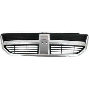 Grille For 2009 2010 Dodge Journey Black Plastic Capa