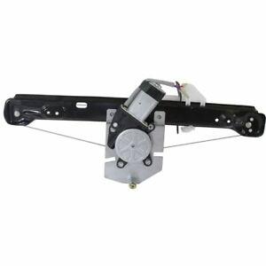 Power Window Regulator For 2008 2011 Ford Focus Rear Right With Motor