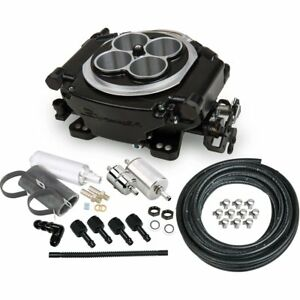 Holley 550 511k Fuel Injection Kit Black Universal