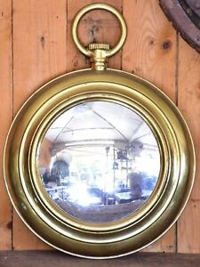 Large Round French Mirror Early 20th Century