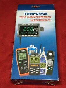 Tenmars Tm 192d 3 axis Emf Electromagnetic Field Gauss Meter W usb Data Logger